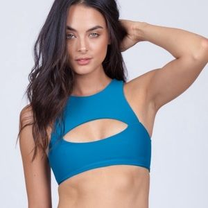 mikoh marrakesh swimsuit top in women's size XL